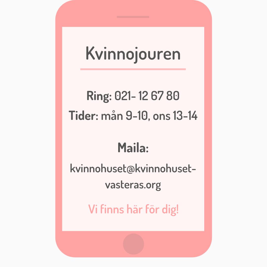 Kontakt Kvinnojouren SOMMAR